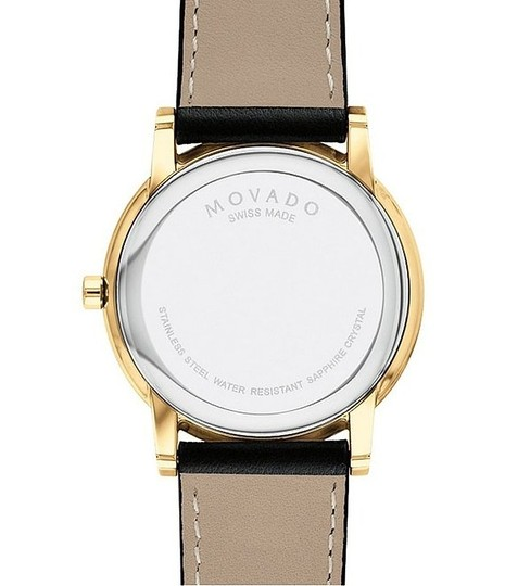 Movado MOVADO Men's Classic Museum Watch NEW IN BOX $650 Image 4