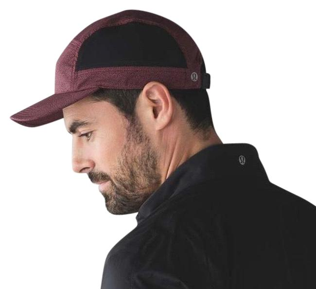 Item - Pebble Shore Fireside Red Deep Navy / Black Men's Surge Run Hat Activewear Gear Size OS (one size)