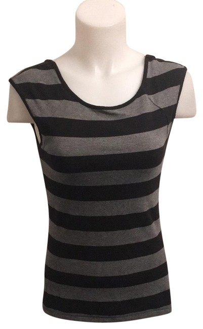 Item - Black and Gray Tank Top/Cami Size 6 (S)