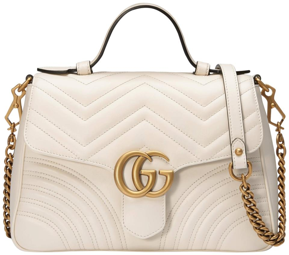 570fe9463 Gucci Gg Marmont Gg Marmont Marmont Top Handle Shoulder Bag Image 0 ...