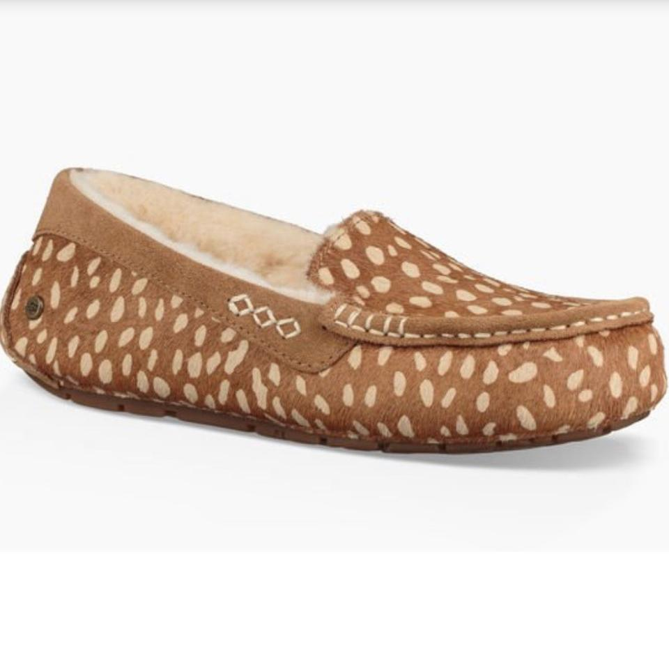 ef830b96b78 UGG Australia Chestnut New Ansley Idyllwild Slipper Flats Size US 5 Regular  (M, B) 23% off retail