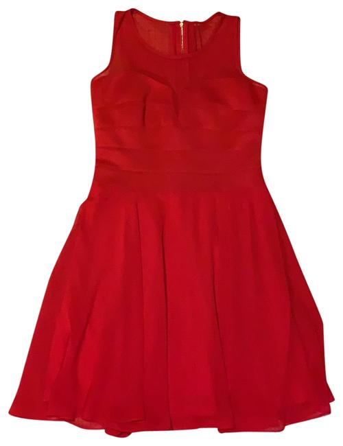Item - Red Short Night Out Dress Size 8 (M)