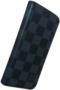 Louis Vuitton Damier Black Iphone 7 & 8 Folio Case LV