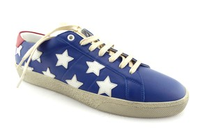 Saint Laurent America Americana Superstar Golden Goose Ggdb Blue / White / Red Athletic