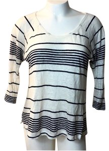 Joie Joie women's stripe long sleeve top extra small