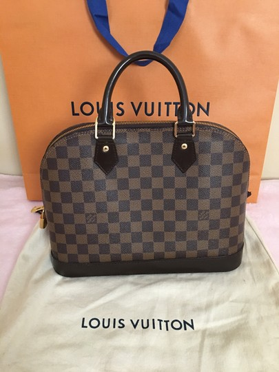Louis Vuitton Satchel in Red Image 1