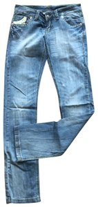 lucy Straight Leg Jeans-Distressed