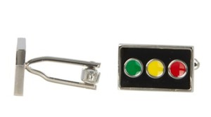 Father / Groom Gift Traffic Light Cufflinks Other