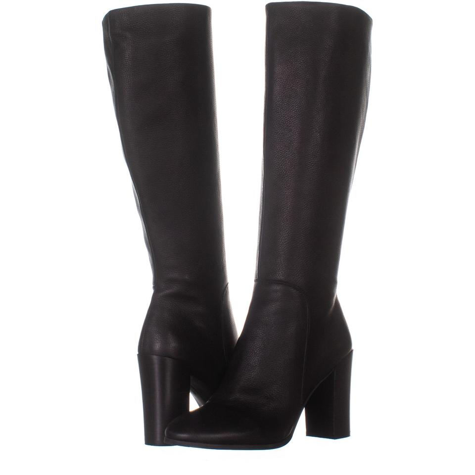 43cb8a6d47d Kenneth Cole Black New York Justin Heeled Knee High Dress 812 Boots/Booties  Size US 7 Regular (M, B) 64% off retail