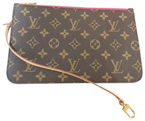 c977cce2db5646 Louis Vuitton Clutch Wallets Pouch Lv Monogram Handbags Wristlet in Brown