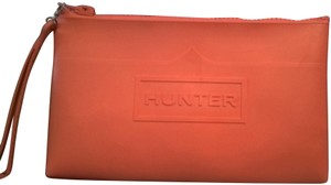 Hunter Great For Outdoors Beach Rugged Wristlet in orange