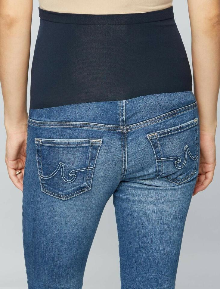 c39eb51cdb4d4 AG Adriano Goldschmied AG Maternity Secret Fit Belly Jeans Size 28 Medium  Wash Msrp $235 Image. 12345678910