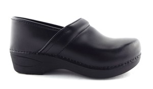 Dansko Professional Slip On Flats Pumps Loafer Black Mules