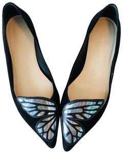 Sophia Webster Black Flats