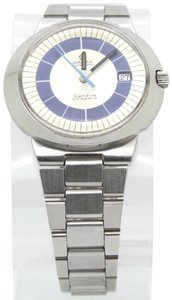 Omega OMEGA Genève Dynamic Two-Tone Blue Dial Stainless Steel Automatic Men'