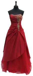 Night Moves Prom Collection Strapless Aline Vintage Dress