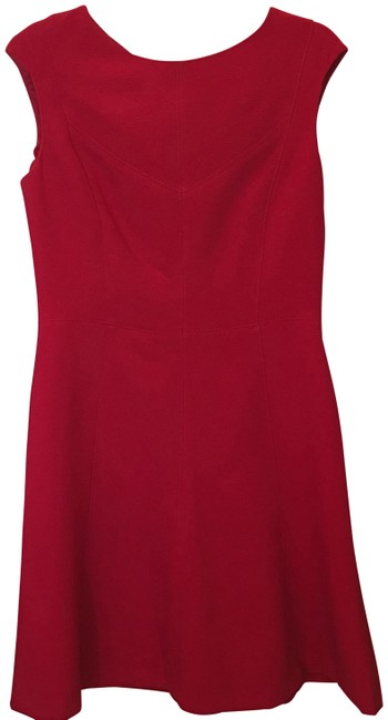Chaps Red Short Night Out Dress Size 8 (M) Chaps Red Short Night Out Dress Size 8 (M) Image 1