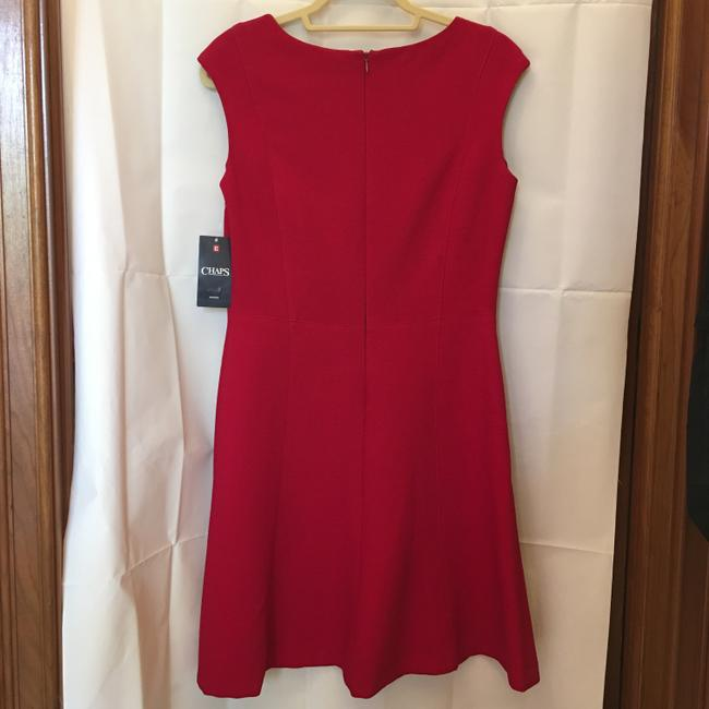 Chaps Red Short Night Out Dress Size 8 (M) Chaps Red Short Night Out Dress Size 8 (M) Image 8