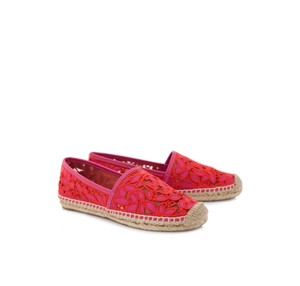 Tory Burch Red and Pink Flats