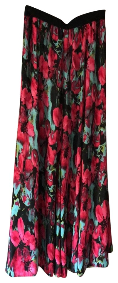 8f12f3a79 BB Dakota Multicolor Floral Skirt Size 8 (M, 29, 30) - Tradesy
