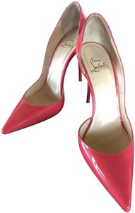 Christian Louboutin Leather Pink/Peach - Begonia Pumps