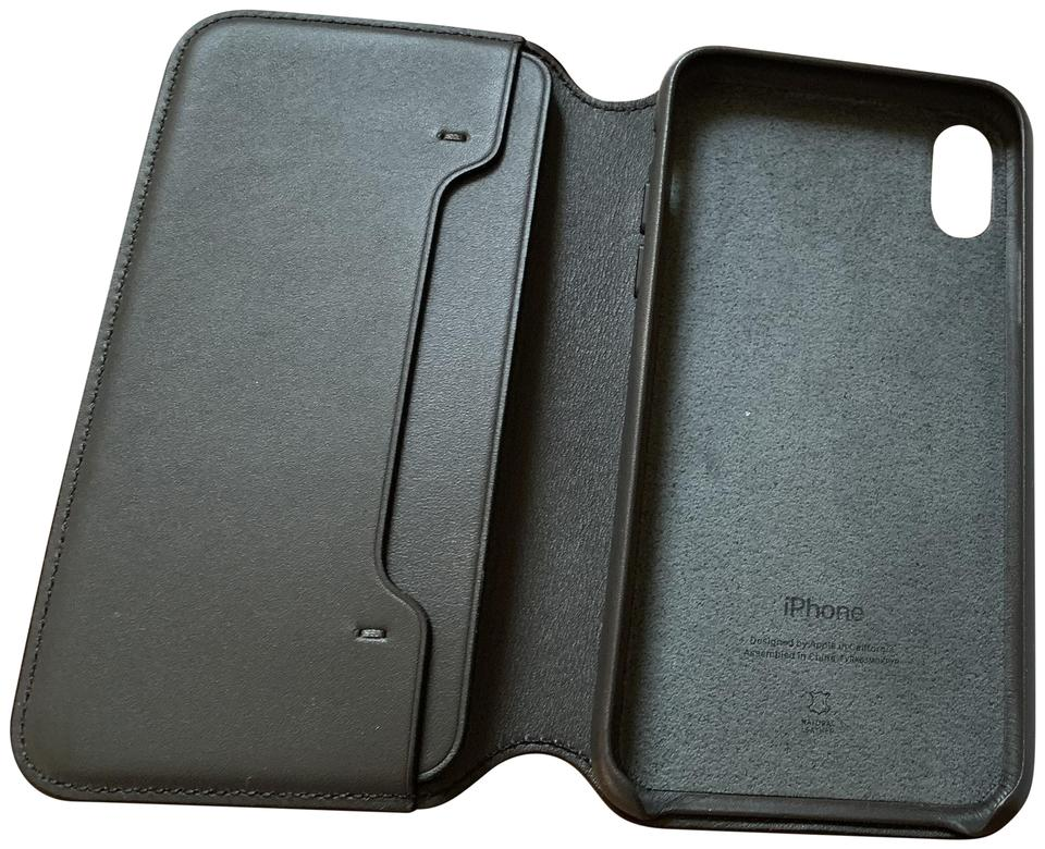 buy popular 9af00 e7868 Apple Black XS Leather Folio (Iphone Xs) Tech Accessory