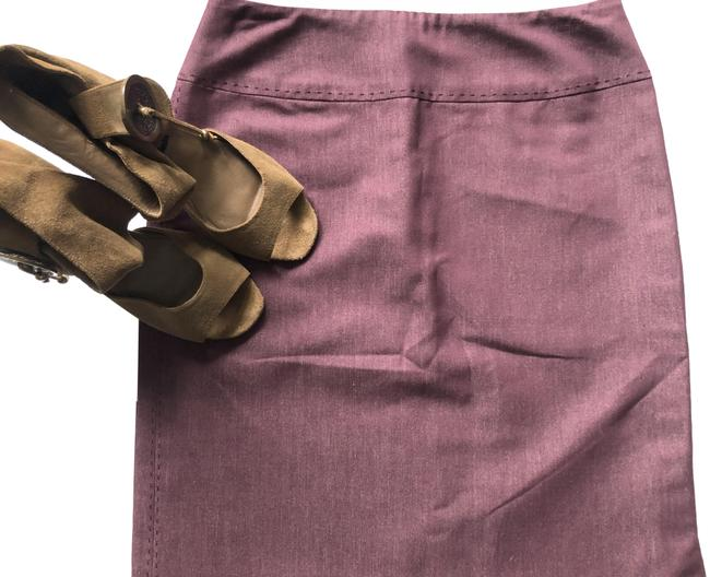 Item - Wine Lined Straight Skirt Size 0 (XS, 25)
