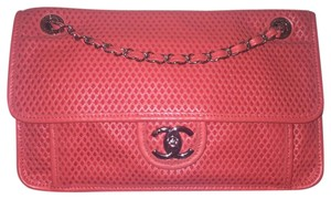 Chanel Perforated Classic Cc Leather Shoulder Bag