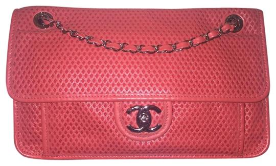Preload https://img-static.tradesy.com/item/25470565/chanel-classic-excellent-condition-up-in-the-air-perforated-coral-medium-flap-shw-cc-pink-leather-sh-0-1-540-540.jpg