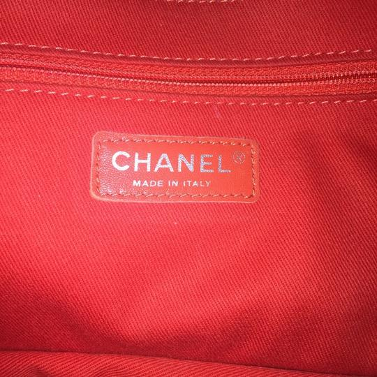 Chanel Perforated Classic Cc Leather Shoulder Bag Image 10