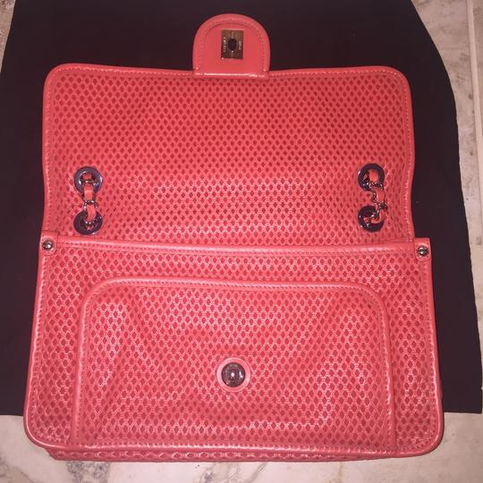 Chanel Perforated Classic Cc Leather Shoulder Bag Image 4