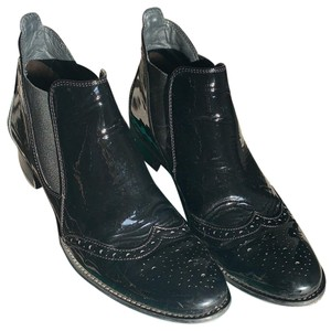 Paul Green Black paten leather Boots
