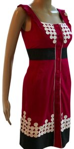 Floreat short dress cranberry red on Tradesy