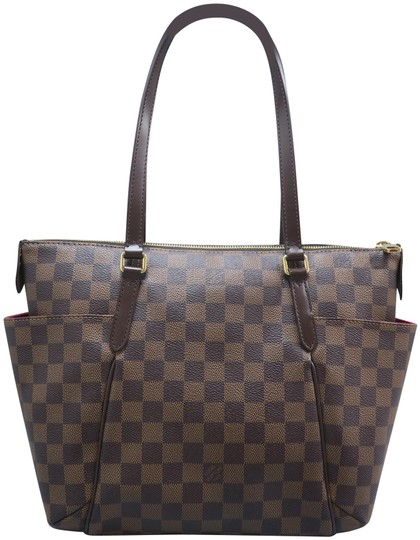 Louis Vuitton Lv Totally Canvas Damier Ebene Shoulder Bag Image 0