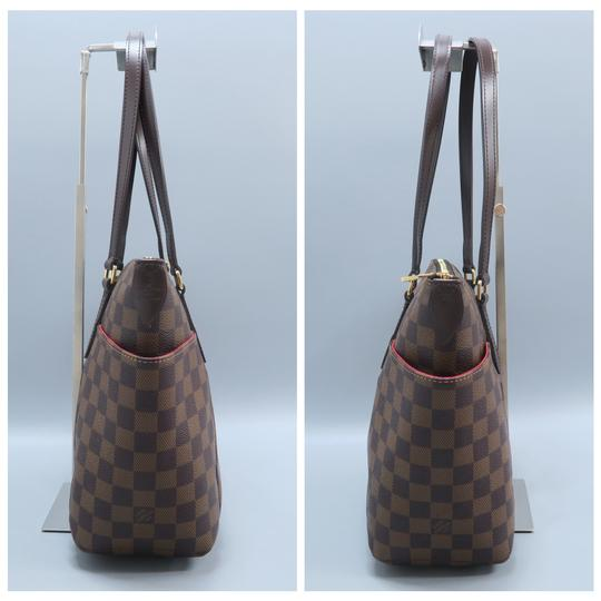 Louis Vuitton Lv Totally Canvas Damier Ebene Shoulder Bag Image 2