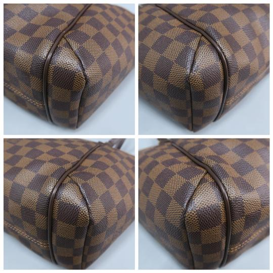 Louis Vuitton Lv Totally Canvas Damier Ebene Shoulder Bag Image 4