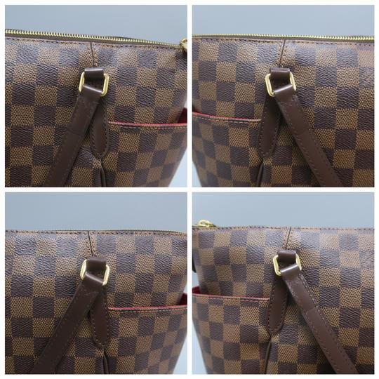 Louis Vuitton Lv Totally Canvas Damier Ebene Shoulder Bag Image 6