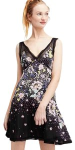 Free People short dress Rayon Floral Swing Mini on Tradesy