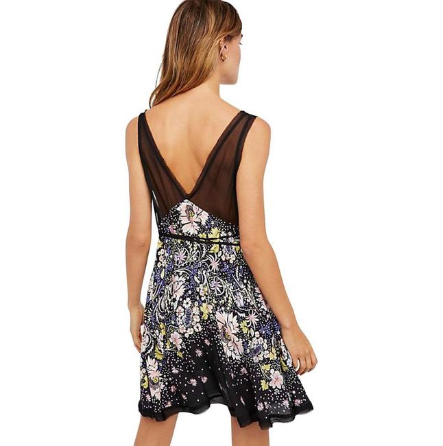 Free People short dress Rayon Floral Swing Mini on Tradesy Image 1
