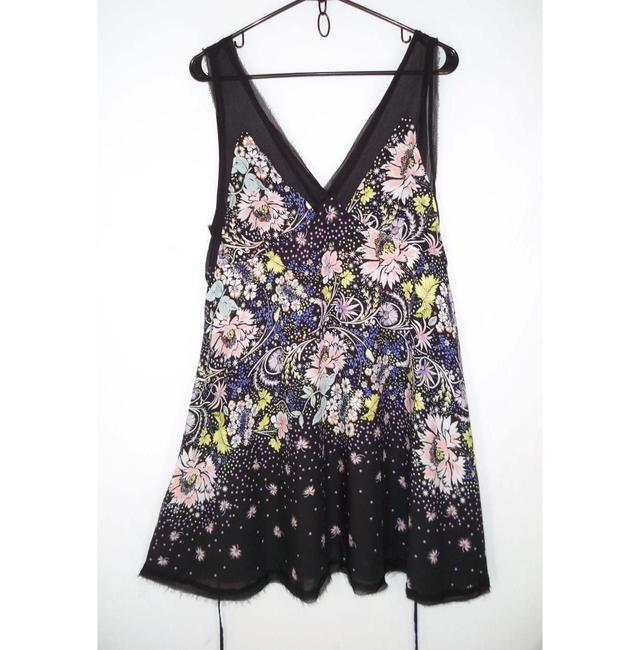 Free People short dress Rayon Floral Swing Mini on Tradesy Image 2