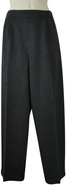 Item - Gray Collection Pleated Santana Knit Pants Size 8 (M, 29, 30)