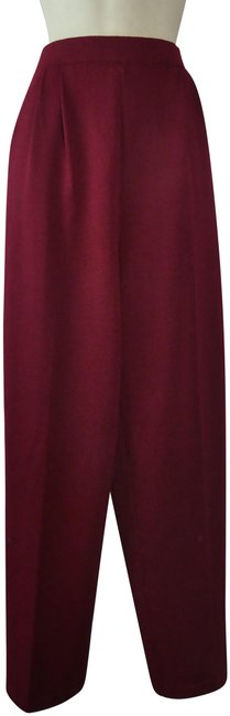 Item - Red Collection Pleated Santana Knit Pants Size 6 (S, 28)