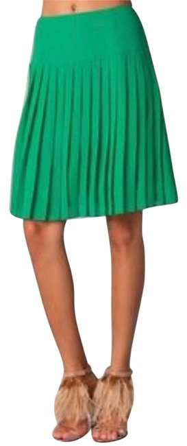 Item - Green Pleated Skirt Size 2 (XS, 26)