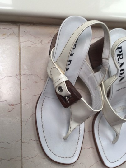 Prada white Sandals Image 1