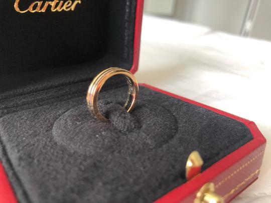 Cartier Trinity Ring Size 46 Women's Wedding Band Image 1