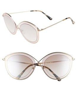 727ca6d8af5d Tom Ford Tom Ford Sacha Cat Eye FT0604 - 47G Light Brown 55mm Sunglasses
