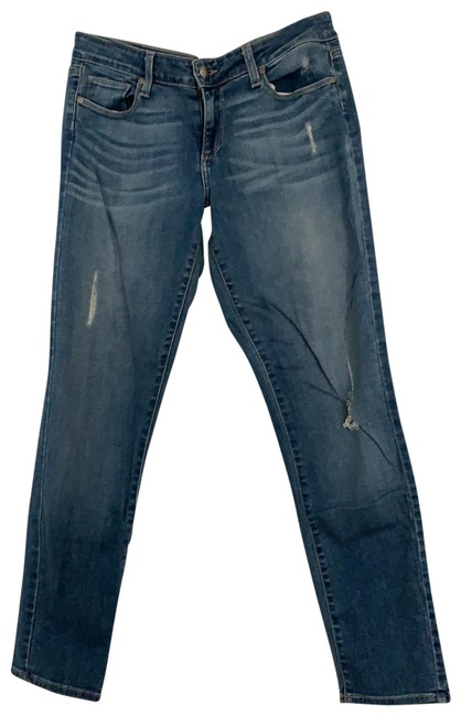 Item - Blue Medium Wash Peg Skinny Jeans Size 8 (M, 29, 30)