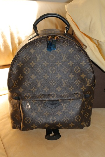 Louis Vuitton Lv Palm Springs Canvas Backpack Image 1