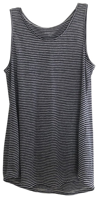 Item - Navy and White Organic Linen Tank Top/Cami Size 4 (S)