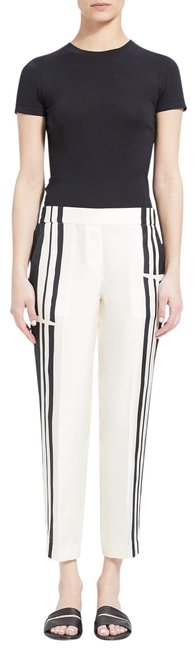 Item - Black & White Black/Ecru Hans Stripe Twill Pants Trouser/Wide Leg Jeans Size 32 (8, M)